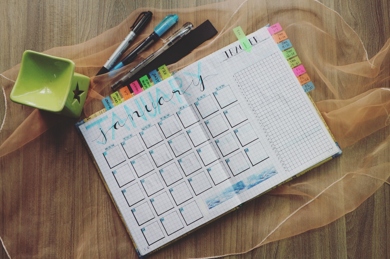 calendar and planning