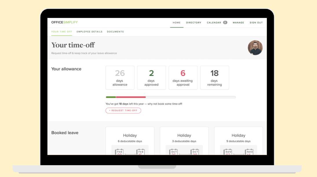 OfficeSimplify HR software